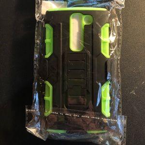 LG Volt 2 LS751 Case w/Kickstand & Belt Clip